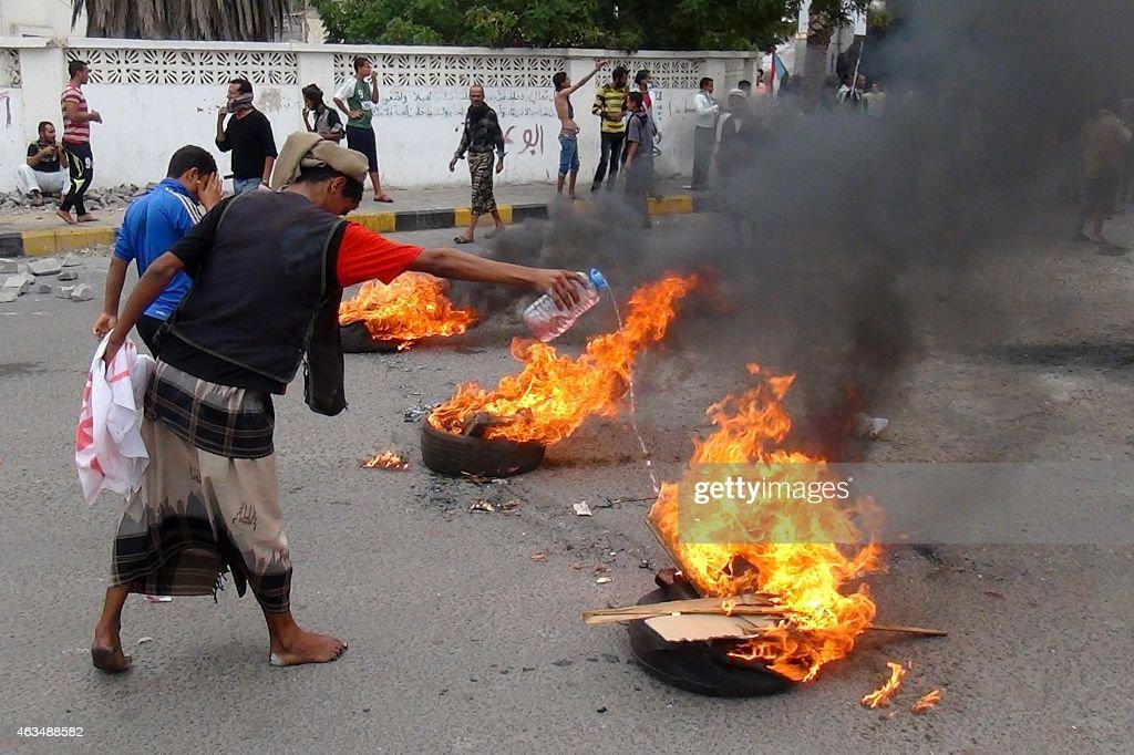YEMEN-POLITICS-UNREST : News Photo
