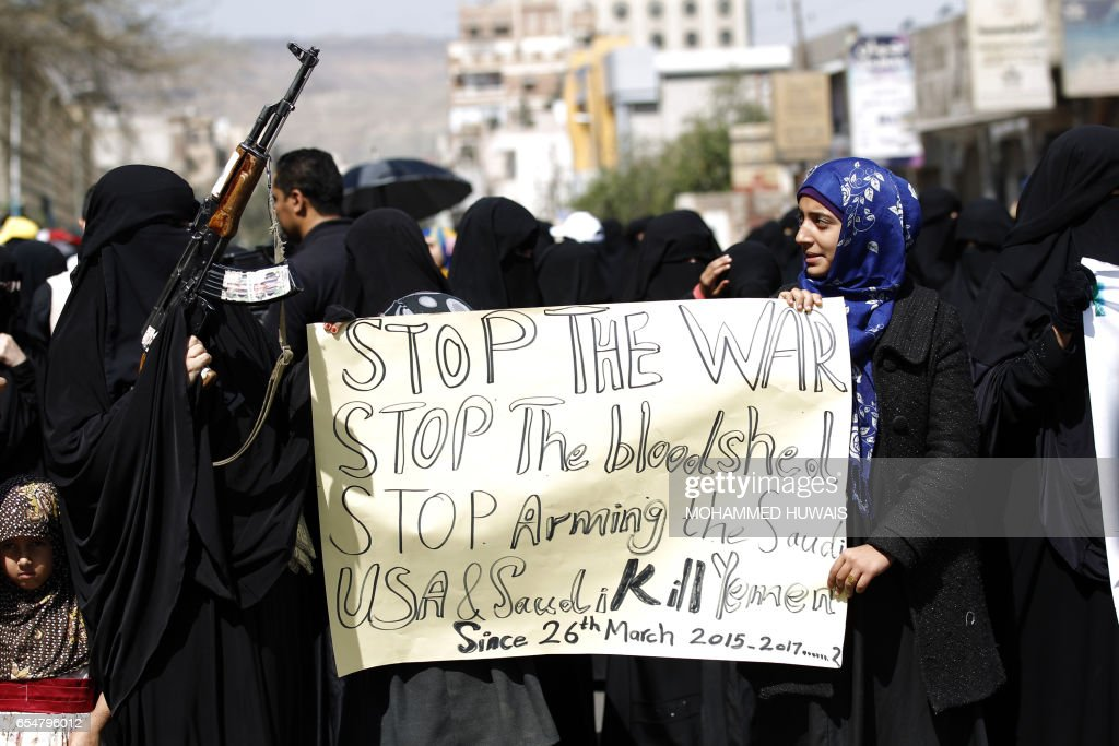 YEMEN-CONFLICT-DEMO : News Photo