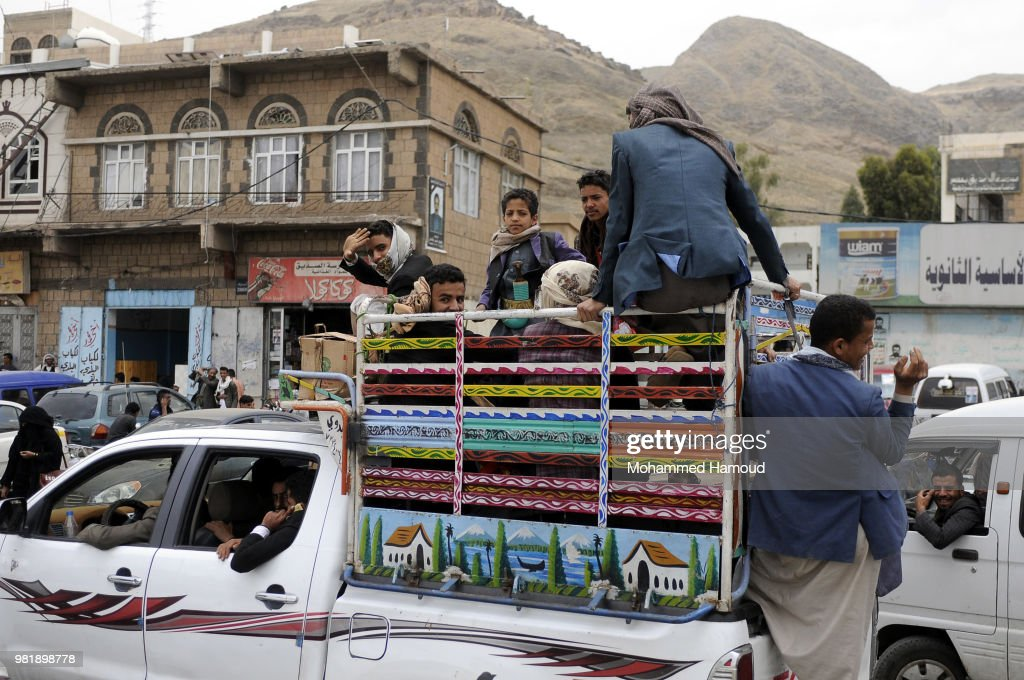 Airstrikes in Hodaida, Yemen