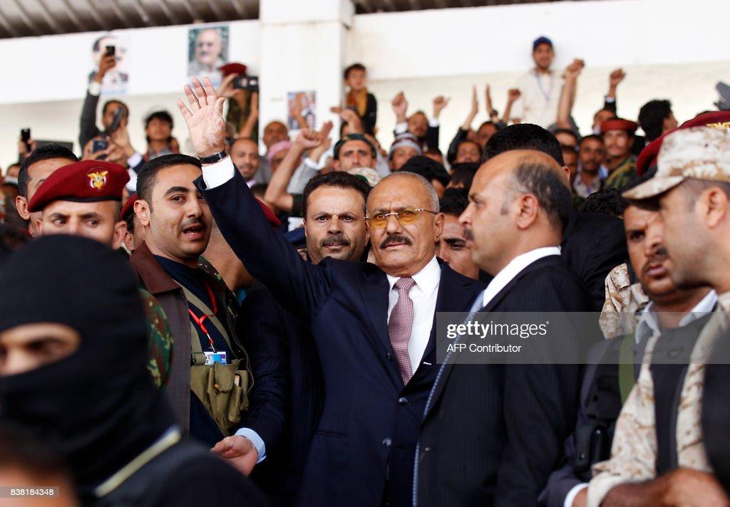 YEMEN-CONFLICT-POLITICS-RALLY : News Photo