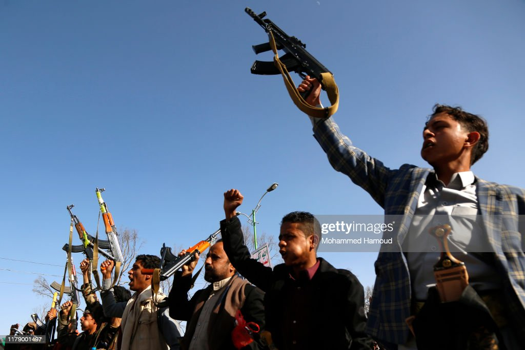 Houthi Rally In Yemen 2019 : News Photo