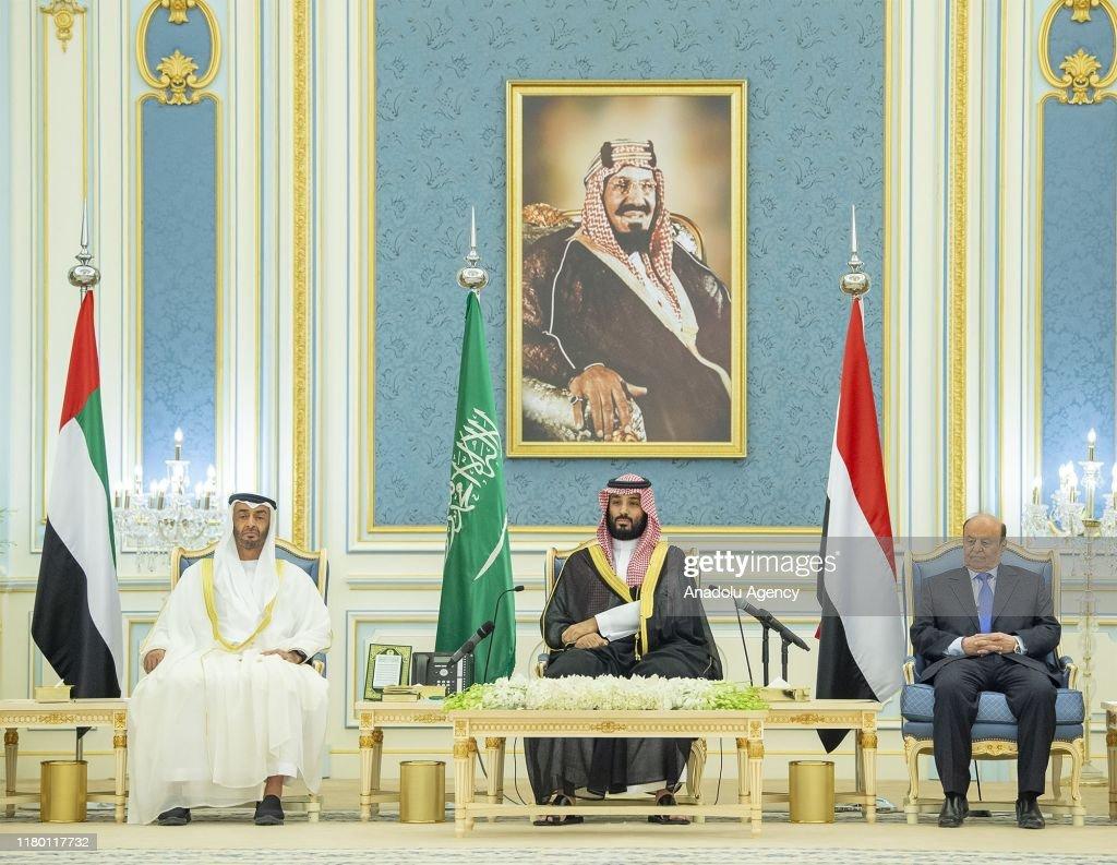 Yemeni government and STC sign 'Riyadh Agreement' : News Photo