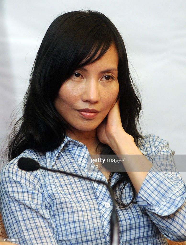 14th Shanghai International Film Festival: 'Norwegian Wood' Press Conference : News Photo