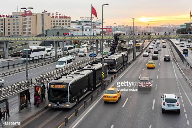Yenibosna district in istanbul