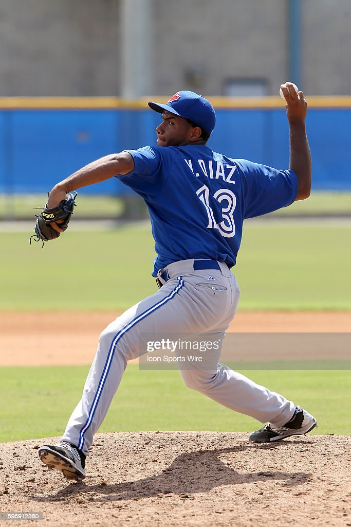 MiLB: OCT 02 Florida Instuctional League - FIL Yankees at FIL Blue Jays : News Photo