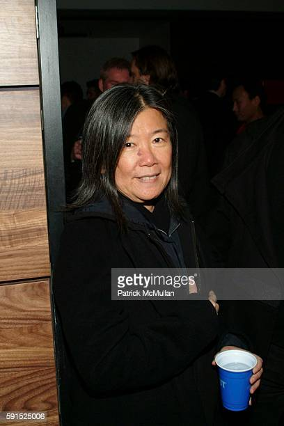 Yeohlee attends BoConcept KolDesign Hoilday Party at BoConcept on December 14 2005 in New York City
