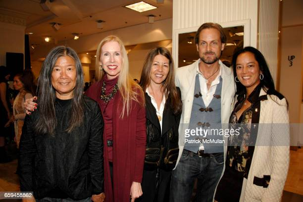 Yeohlee Teng Joanne Hartlaub Sally Randall Brunger Andrew Brunger and Cassandra Seidenfeld Lyster at LORD TAYLOR Celebrates Fashion's Night Out at...
