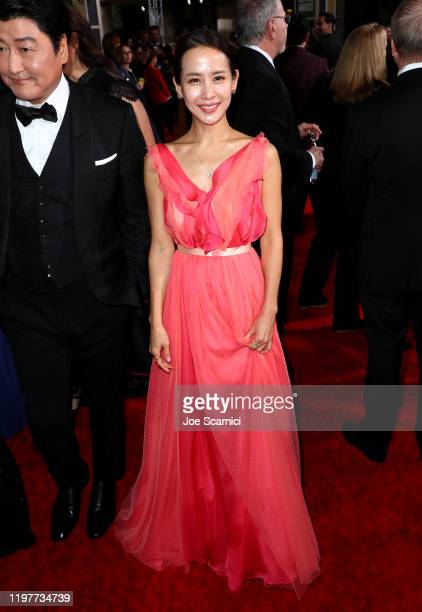 Yeojeong Jo attends the 77th Annual Golden Globe Awards at The Beverly Hilton Hotel on January 05 2020 in Beverly Hills California