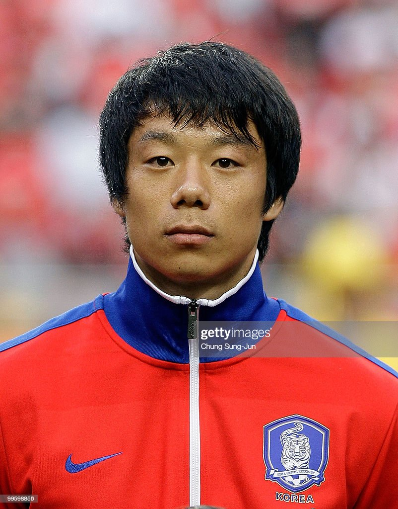Yeom Ki-Hun of South Korea poses during the international friendly match between South Korea and Ecuador at Seoul Worldcup stadium on May 16, 2010 in Seoul, South Korea.