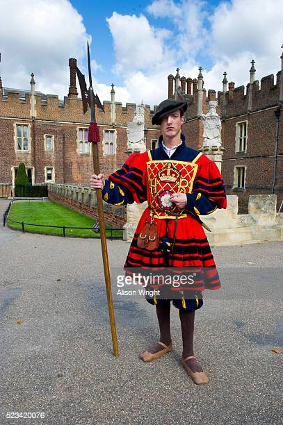 Yeoman at Hampton Court Palace