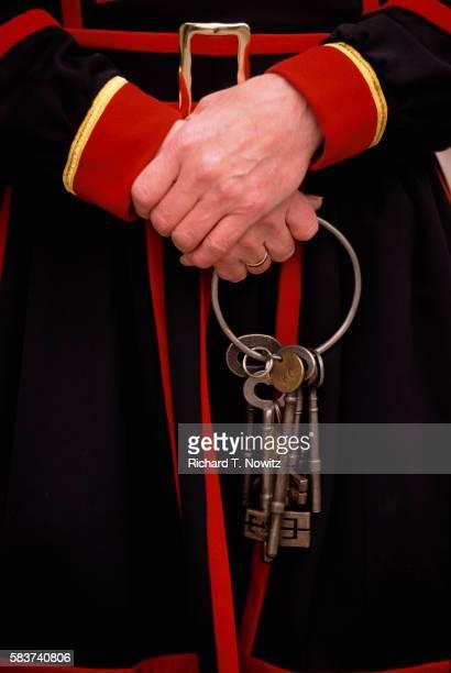 Yeoman Holding Queen's Chapel Keys