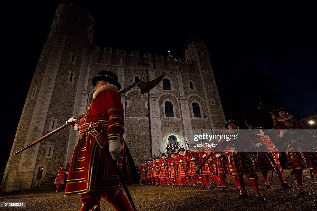 A New Constable Is Installed At The Tower Of London : News Photo