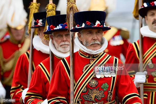 Yeomen of the Guard at Order of The Garter Service Windsor United Kingdom