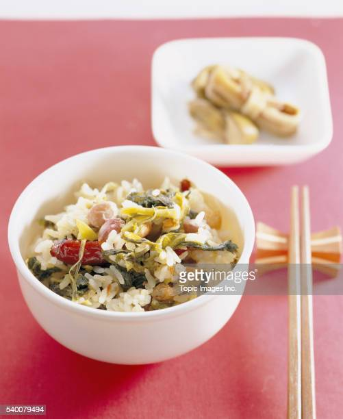Yeongyangbap _ boiled rice with various nutritious ingredients, Korean Food
