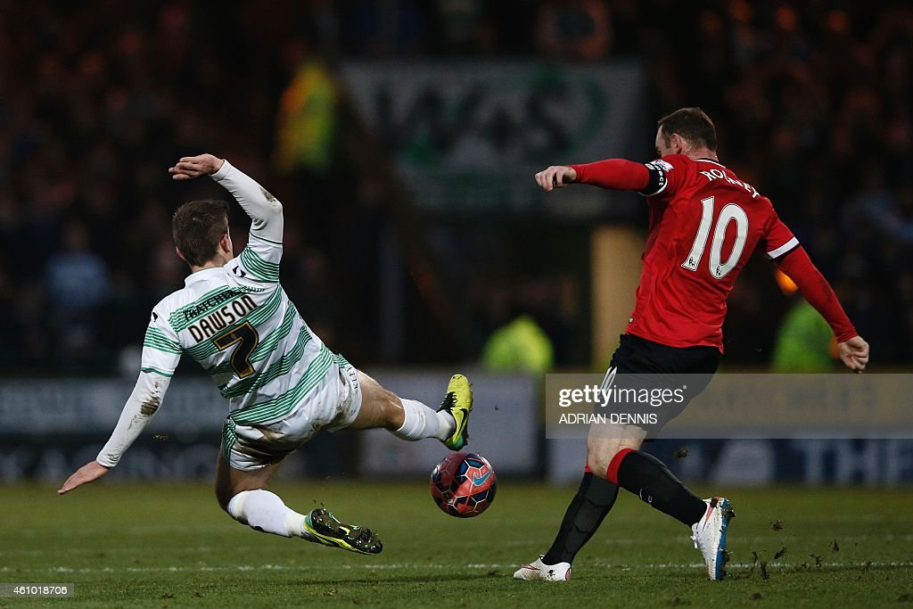 FBL-ENG-FACUP-YEOVIL-MAN UTD : News Photo