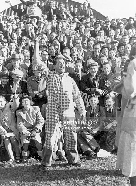 Yeovil v Sunderland Cup Tie, 30 January 1948. Yeovil v Sunderland Cup Tie, 30 January 1948. 'Cup Tie fever with mascots entertaining crowds'....