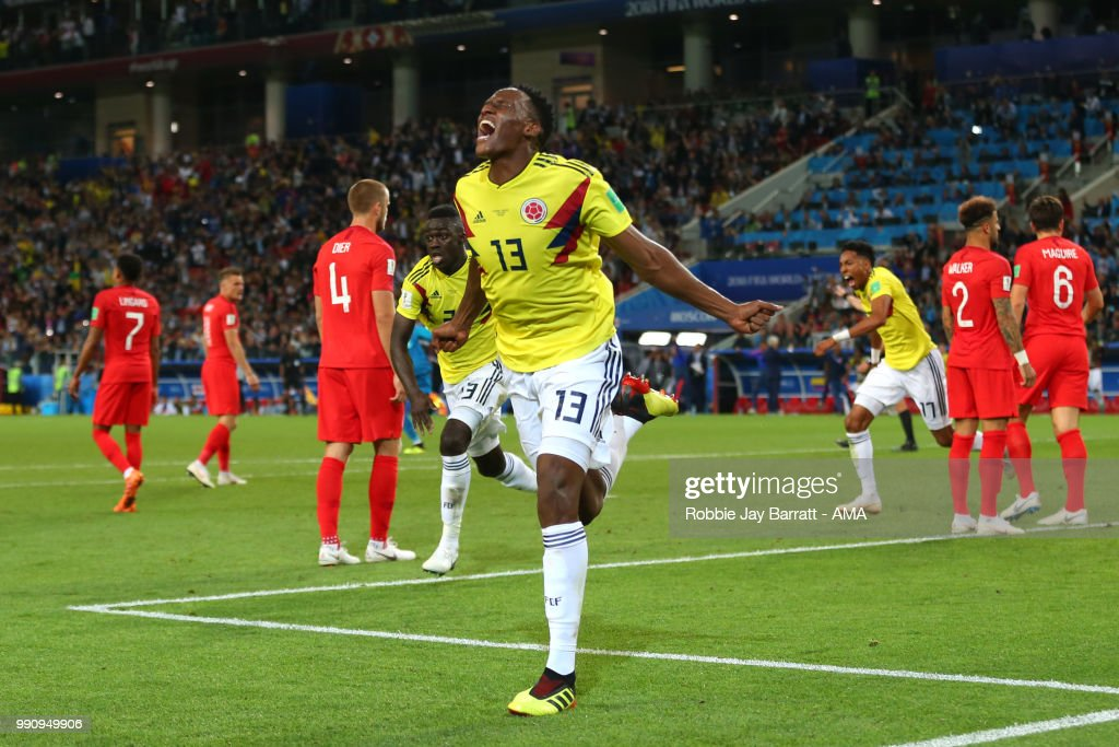 Colombia v England: Round of 16 - 2018 FIFA World Cup Russia : ニュース写真