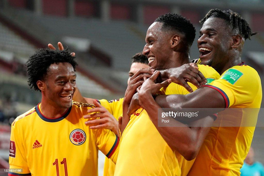 Peru v Colombia - FIFA World Cup 2022 Qatar Qualifier : News Photo