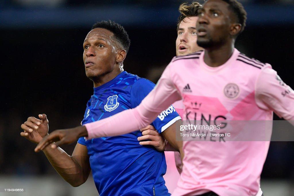 Everton FC v Leicester FC - Carabao Cup: Quarter Final : News Photo