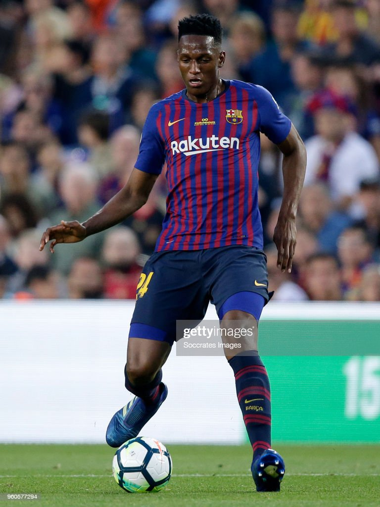 Yerry Mina Of Fc Barcelona During The La Liga Santander Match Between News Photo Getty Images
