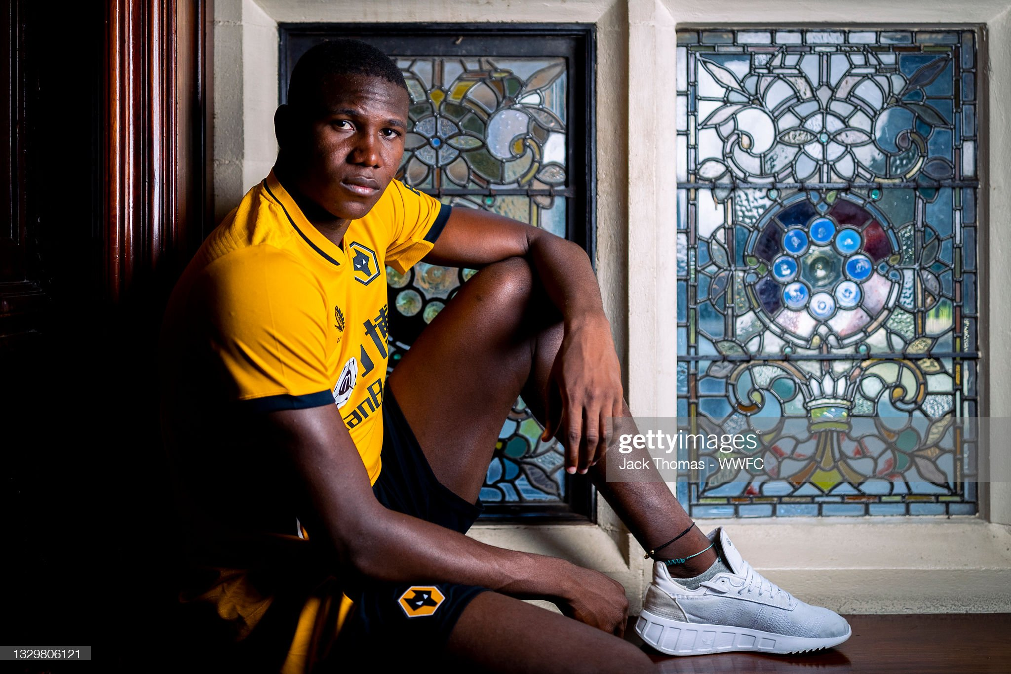 Yerson Mosquera First Portraits as a Wolverhampton Wanderers Player : ニュース写真