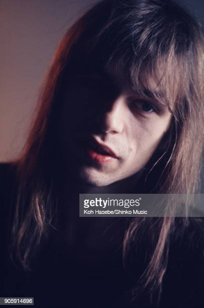 Yes interviewed by Music Life magazine at their office February London United Kingdom Steve Howe