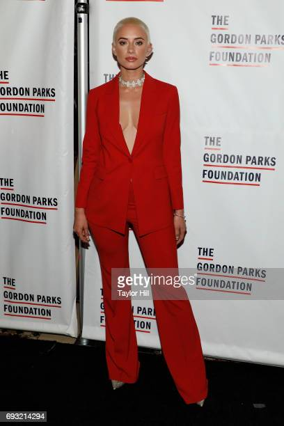 Yes Julz attends the 2016 Gordon Parks Foundation Annual Gala at Cipriani 42nd Street on June 6 2017 in New York City