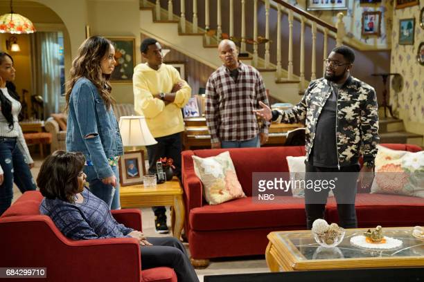 """Yes Means Yes"""" Episode 302 -- Pictured: Loretta Devine as Cynthia Carmichael, Amber Stevens West as Maxine, Jerrod Carmichael as Jerrod Carmichael,..."""