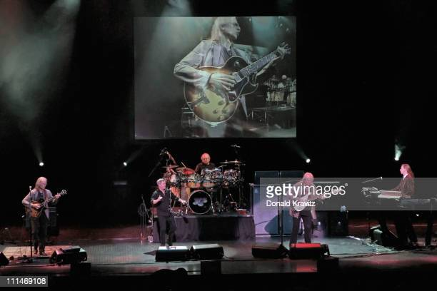 Yes performs in the Tropicana Showroom at the Tropicana Casino on April 2 2011 in Atlantic City New Jersey