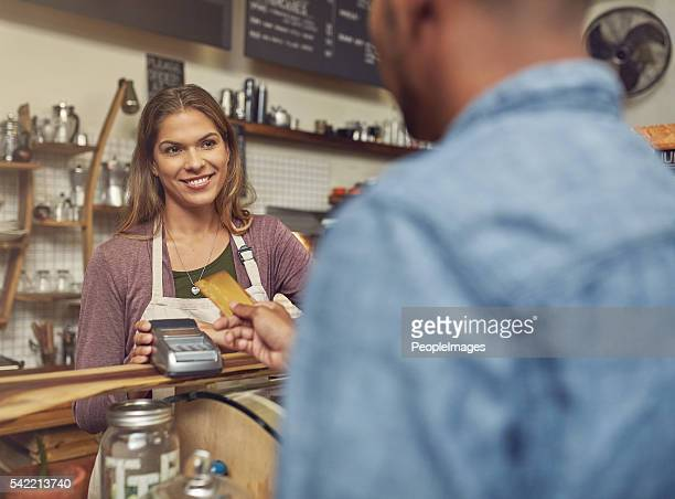 Yes, we do accept credit cards