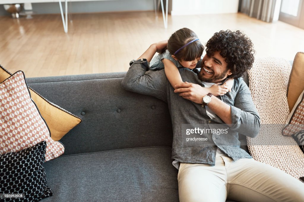 Yes, you are my favourite little princess ever : Stock Photo