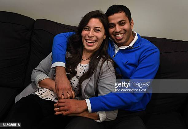 Yesica Suarez and Akshaan Arora met in college She's from Venezuela he's from India She's a devout Catholic he's a Hinduturnedatheist She grew up...