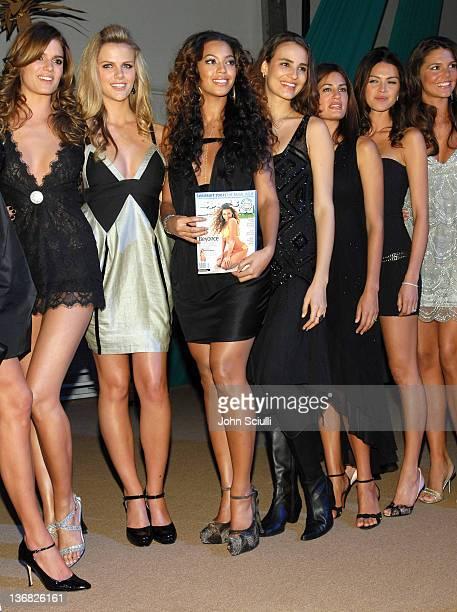 Yesica Toscanini Brooklyn Decker Beyonce Knowles Fernanda Tavares Yamila DiazRahi Aline Nakashima and Daniella Sarahyba