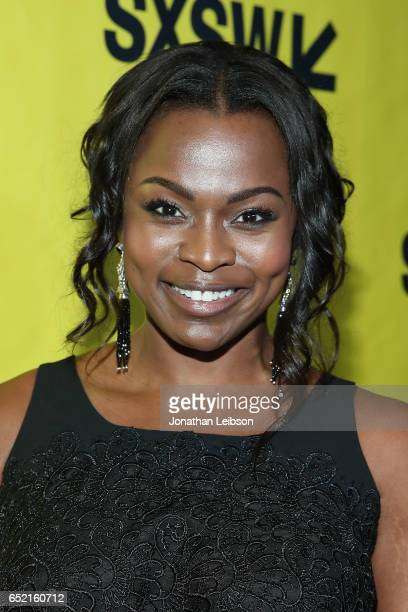 Yetide Badaki attends the 'American Gods' at SXSW at on March 11 2017 in Austin Texas