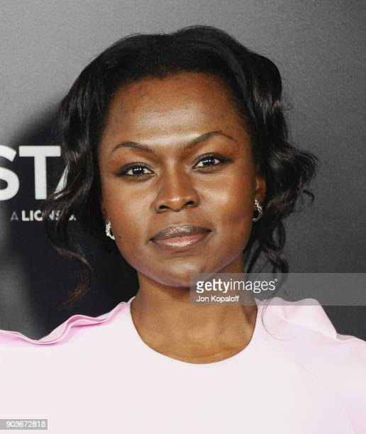 Yetide Badaki attends the Los Angeles Premiere of Starz's 'Counterpart' at Directors Guild Of America on January 10 2018 in Los Angeles California