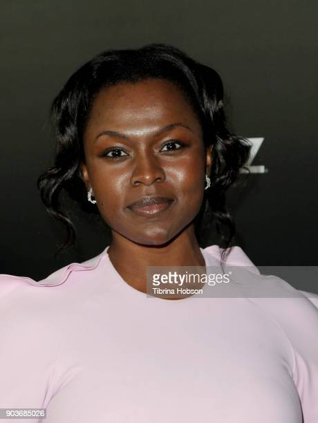 Yetide Badaki attends the premiere of Starz's 'Counterpart' at Directors Guild of America on January 10 2018 in Los Angeles California
