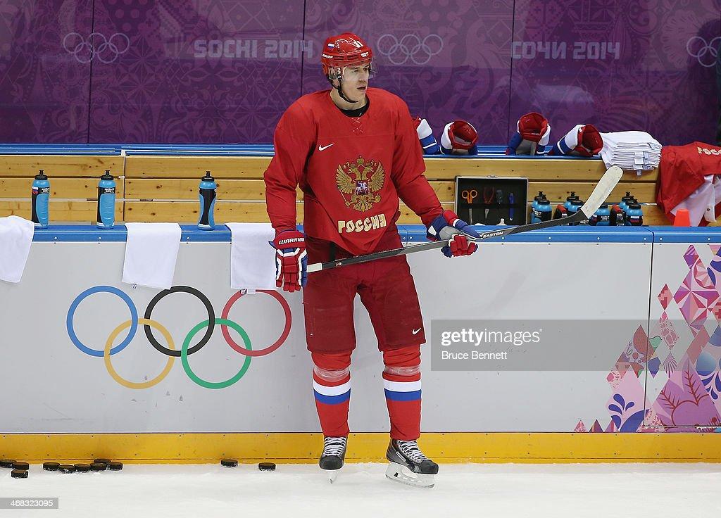 Ice Hockey - Winter Olympics Day 3 - Men's Training : News Photo