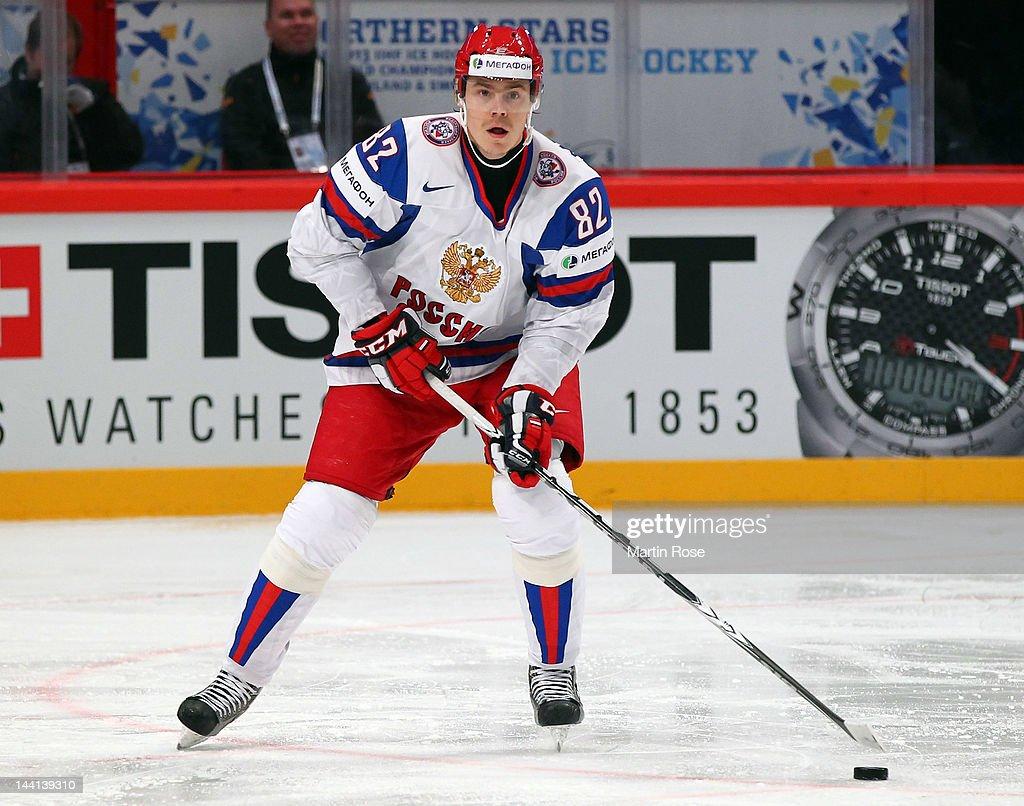 Denmark v Russia - 2012 IIHF Ice Hockey World Championship : News Photo