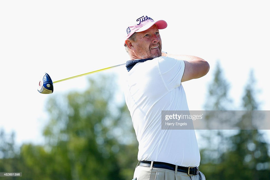 M2M Russian Open - Day Two