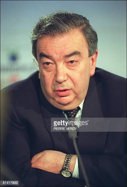 Yevgeny Primakov, than the advisor of Russian President Gorbachev, in picture dated 27 April 1991 in Paris. Former spymaster and Middle East expert...