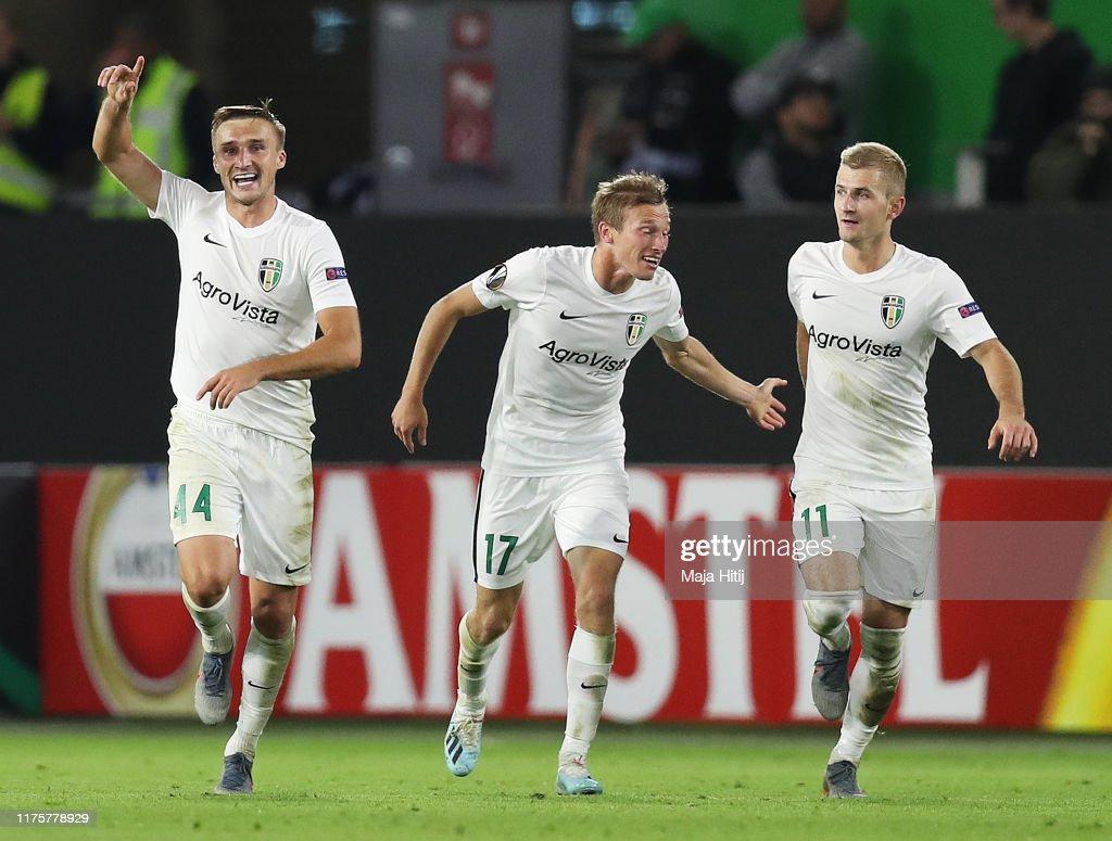 VfL Wolfsburg v FC Oleksandriya: Group I - UEFA Europa League : News Photo