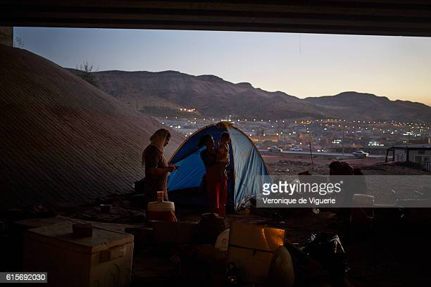 Yezidis refugees in Dohouk are investigating everywhere in the city