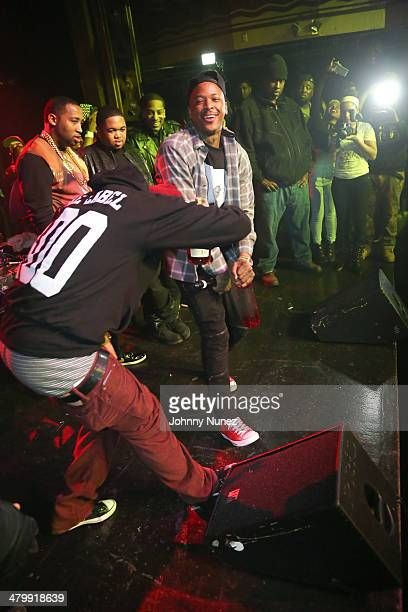 Yg attends Yg Official Album Release Party at Webster Hall on March 20 2014 in New York City