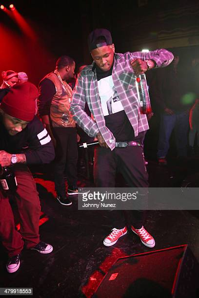 Yg performs at Yg Official Album Release Party at Webster Hall on March 20 2014 in New York City
