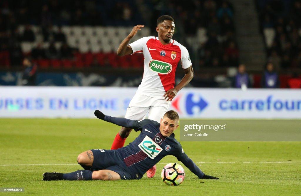 Paris Saint-Germain v AS Monaco - French Cup Semi-Final : News Photo