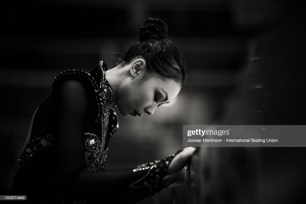 Yi Christy Leung of Hong Kong competes in the Junior Ladies Free Skating during the ISU Junior Grand Prix of Figure Skating at Ondrej Nepela Arena on August 25, 2018 in Bratislava, Slovakia. (Photo by Joosep Martinson - International Skating Union (ISU)/ISU via Getty Images)