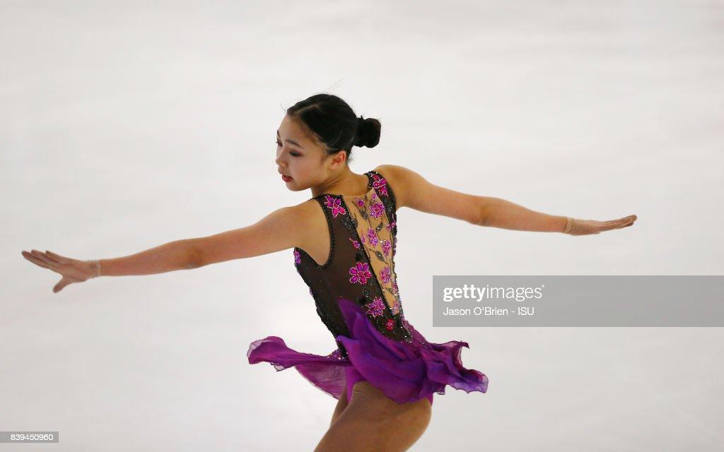 ISU Junior Grand Prix of Figure Skating - Brisbane : ニュース写真