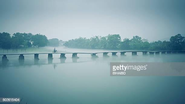 Yi Jiang River at Dawn ,Guilin,China