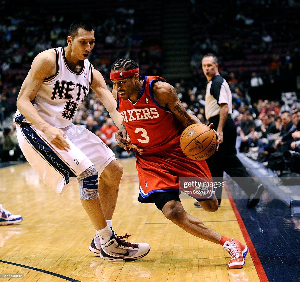 Basketbal - NBA - 76ers vs. Nets : News Photo