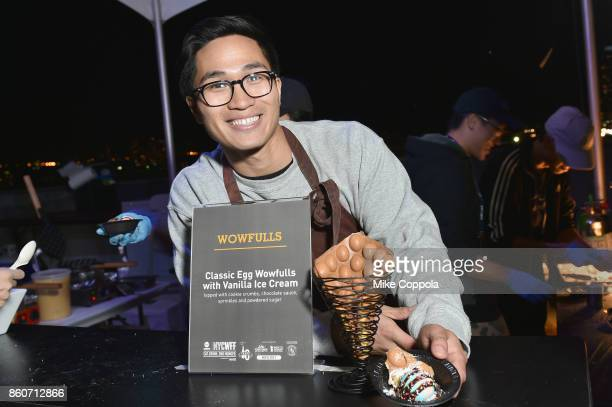 Yi Ming of Wowfulls attends The Food Network & Cooking Channel New York City Wine & Food Festival Presented By Coca-Cola - Smorgasburg presented by...